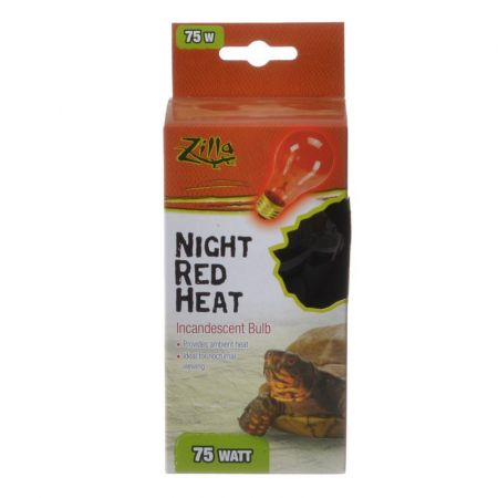Zilla Incandescent Night Red Heat Bulb for Reptiles alternate view 2