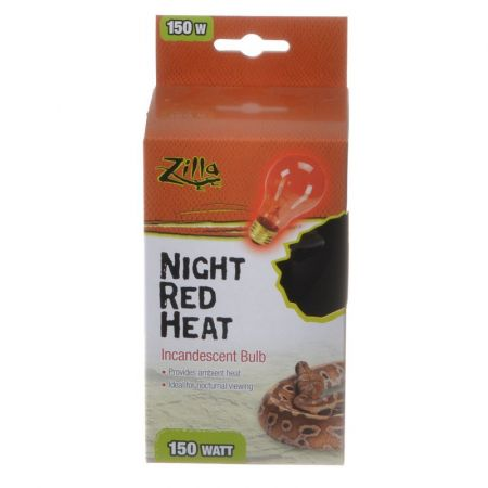 Zilla Incandescent Night Red Heat Bulb for Reptiles alternate view 4