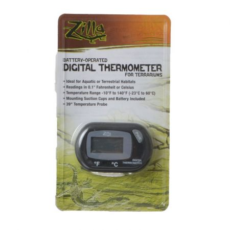Zilla Zilla Battery-Operated Digital Thermometer for Terrariums