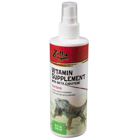 Zilla Zilla Vitamin Supplement with Beta Carotene