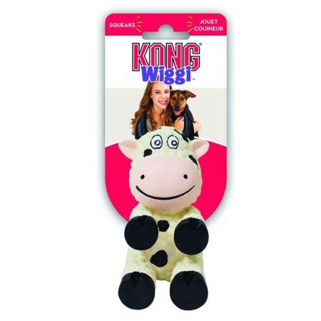 Kong Kong Wiggi Cow Dog Toy