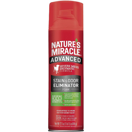 Natures Miracle Nature's Miracle Advanced Enzymatic Stain & Odor Eliminator Foam