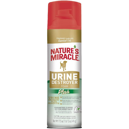 Natures Miracle Nature's Miracle Enzymatic Urine Destroyer Foam
