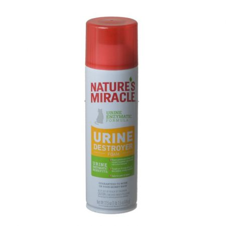 Natures Miracle Nature's Miracle Just for Cats Enzymatic Urine Destroyer Foam