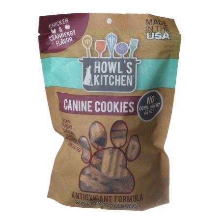Howl's Kitchen Howl's Kitchen Canine Cookies Antioxidant Formula - Chicken & Cranberry Flavor