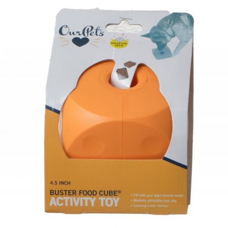 OurPets Our Pet's Buster Food Cube Dog Toy