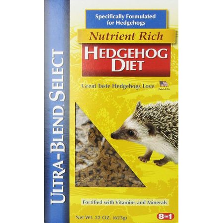 8 in 1 Pet Products 8 in 1  Ultra-Blend Nutrient Rich Hedgehog Diet