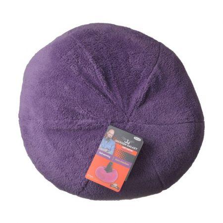 Petmate Jackson Galaxy Comfy Dumpling Self-Warming Cat Bed - Purple alternate view 1