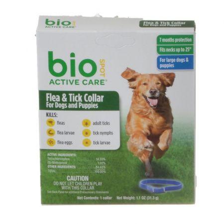 Bio Spot Bio Spot Active Care Flea & Tick Collar for Dogs