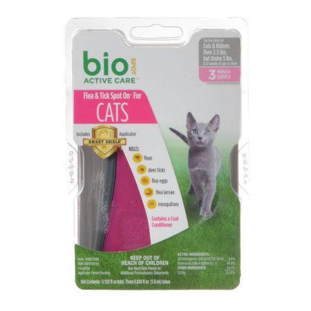 Bio Spot Bio Spot Active Care Flea & Tick Spot On for Cats