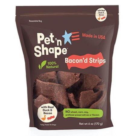 Pet 'n Shape Pet 'n Shape Bacon'd Strips with Duck & Bacon