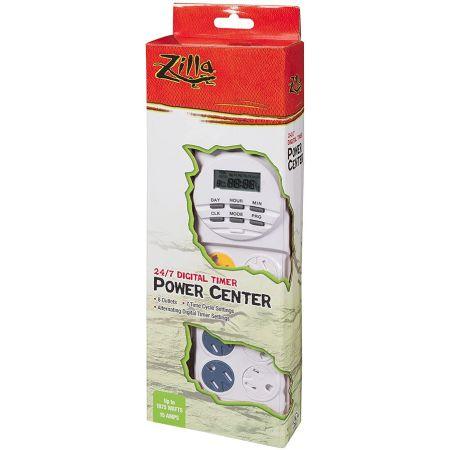 Zilla Zilla 24/7 Digital Timer Power Center