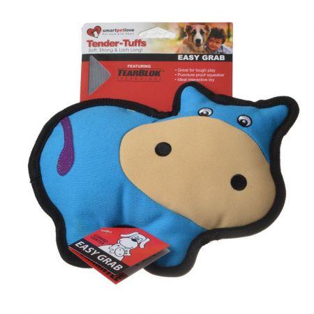 Smart Pet Love SmartPetLove Simple Blue Cow Dog Toy