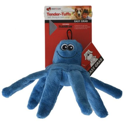 Smart Pet Love SmartPetLove Blue Octopus Dog Toy