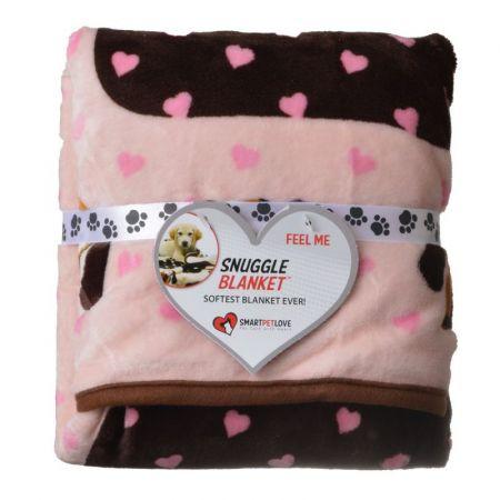 SmartPetLove Snuggle Blanket - Pink Heart alternate view 1