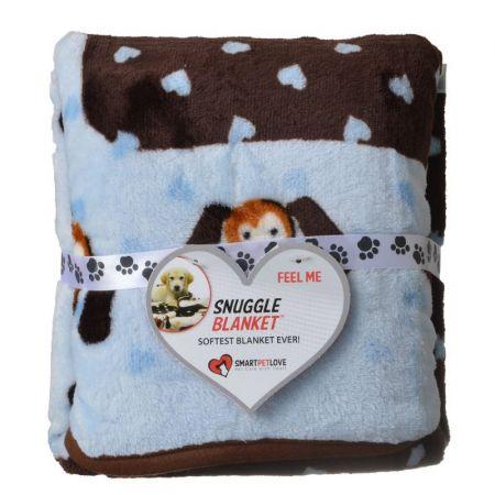 SmartPetLove Snuggle Blanket - Blue Heart alternate view 1