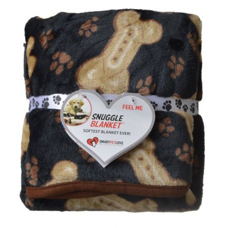 Smart Pet Love SmartPetLove Snuggle Blanket - Bone Pattern