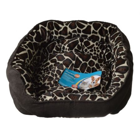 Aspen Pet Oval Pet Bed - Giraffe Print alternate view 1