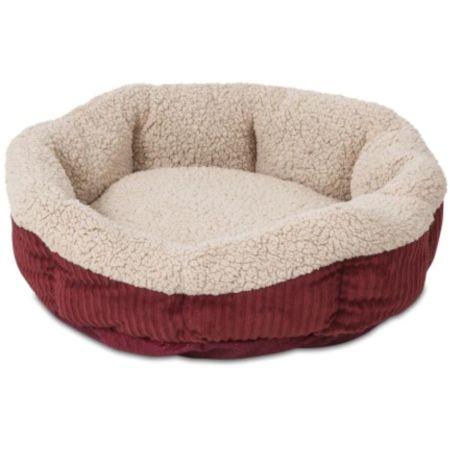 Aspen Pet Self Warming Pet Bed - Spice & Cream