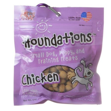 Loving Pets Loving Pets Houndations Training Treats - Chicken