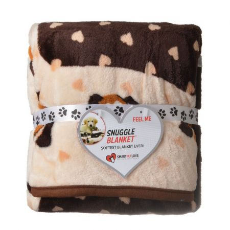 SmartPetLove Snuggle Blanket - Cream Heart
