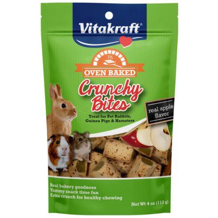 Vitakraft Vitakraft Oven Baked Crunchy Bites Small Pet Treats - Real Apple Flavor