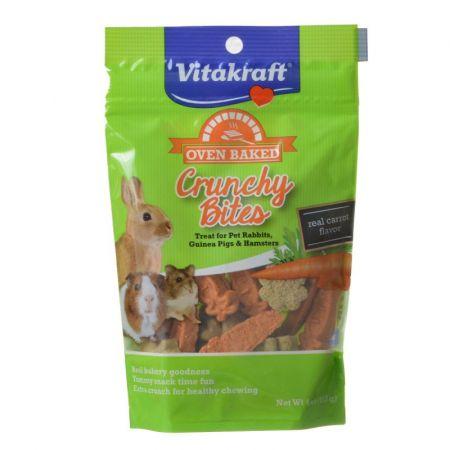 Vitakraft Vitakraft Oven Baked Crunchy Bites Small Pet Treats - Real Carrot Flavor