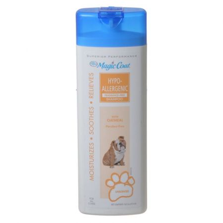Four Paws Magic Coat Hypo-Allergenic Fragrance Free Shampoo with Oatmeal