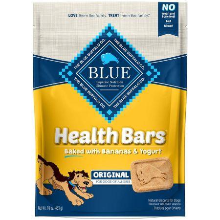 Blue Buffalo Blue Buffalo Health Bars Dog Biscuits - Baked with Bananas & Yogurt