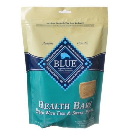 Blue Buffalo Blue Buffalo Health Bars Dog Biscuits - Baked with Fish & Sweet Potato