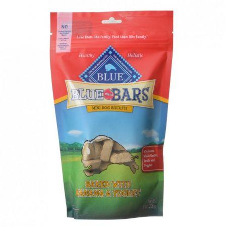 Blue Buffalo Blue Buffalo Blue Mini Bars Dog Biscuits - Baked with Banana & Yogurt