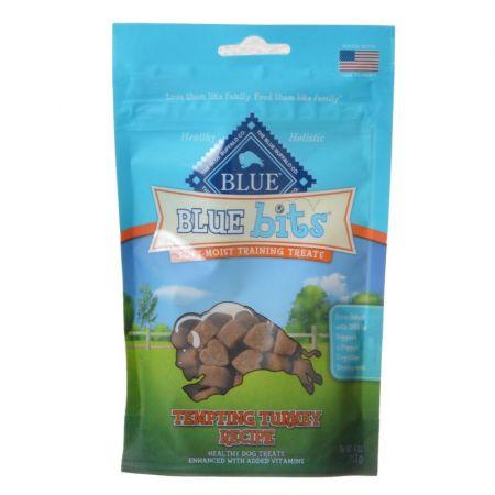Blue Buffalo Blue Buffalo Blue Bits Soft-Moist Training Treats - Tempting Turkey Recipe