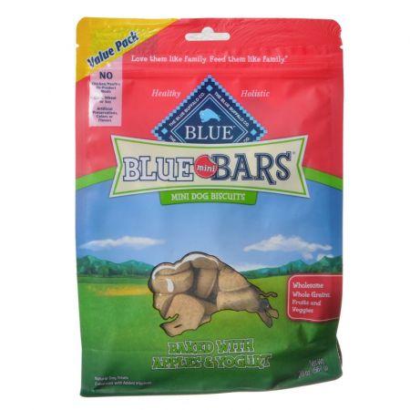 Blue Buffalo Blue Buffalo Blue Mini Bars Dog Biscuits - Baked with Apple & Yogurt