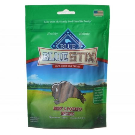 Blue Buffalo Blue Stix Soft-Moist Dog Treats - Beef & Potato Recipe