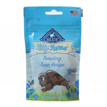 Blue Buffalo Blue Buffalo Kitty Yums Moist Cat Treats - Tempting Tuna Recipe