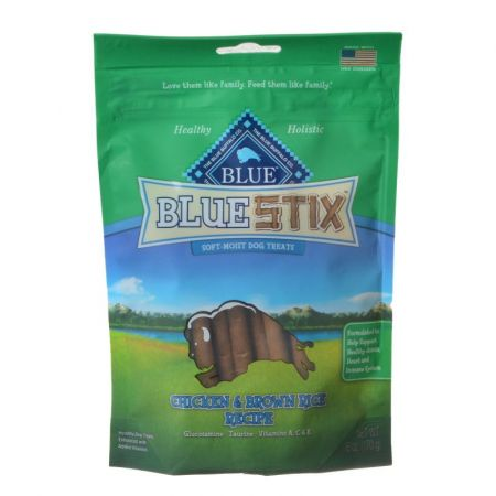 Blue Buffalo Blue Buffalo Blue Stix Soft-Moist Dog Treats - Chicken & Brown Rice Recipe