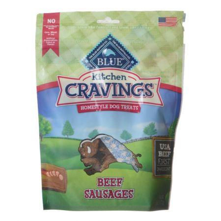 Blue Buffalo Blue Buffalo Kitchen Cravings Homestyle Dog Treats - Beef Sausages