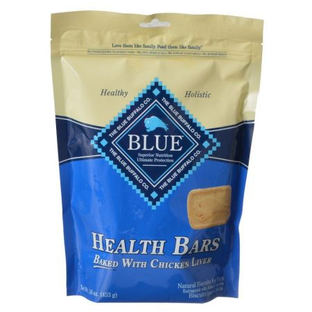 Blue Buffalo Blue Buffalo Health Bars Dog Biscuits - Baked with Chicken Liver
