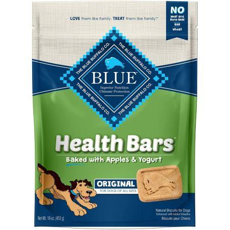 Blue Buffalo Blue Buffalo Health Bars Dog Biscuits - Baked with Apples & Yogurt