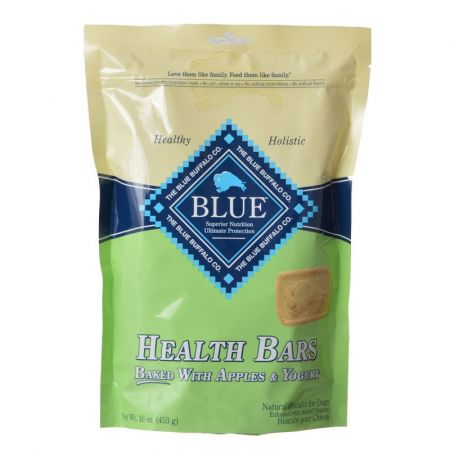 Blue Buffalo Blue Buffalo Health Bars Dog Biscuits - Baked with Apples & Yogurt