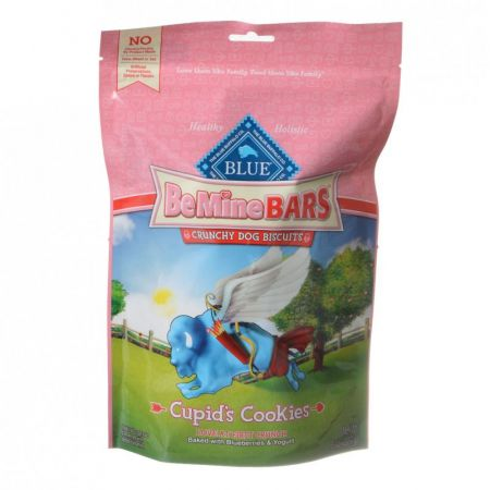 Blue Buffalo Blue Buffalo Be Mine Bars Crunchy Dog Biscuits - Cupid's Cookies
