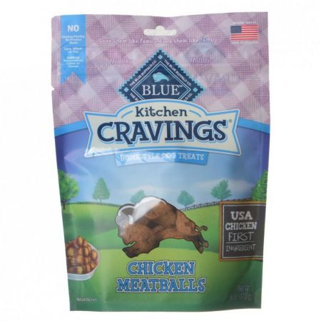 Blue Buffalo Blue Buffalo Kitchen Cravings Homestyle Dog Treats - Chicken Meatballs