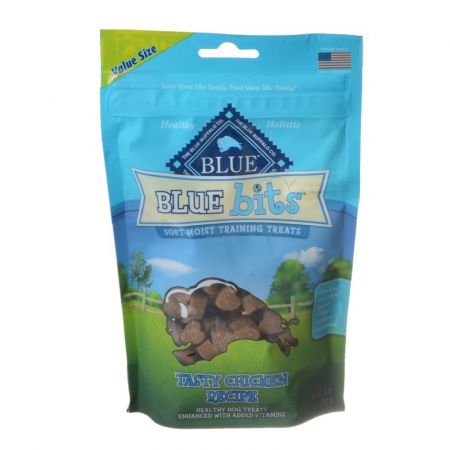 Blue Buffalo Blue Buffalo Blue Bits Soft-Moist Training Treats - Tasty Chicken Recipe