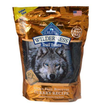 Blue Buffalo Blue Buffalo Wilderness Grain-Free Biscuits - Turkey Recipe