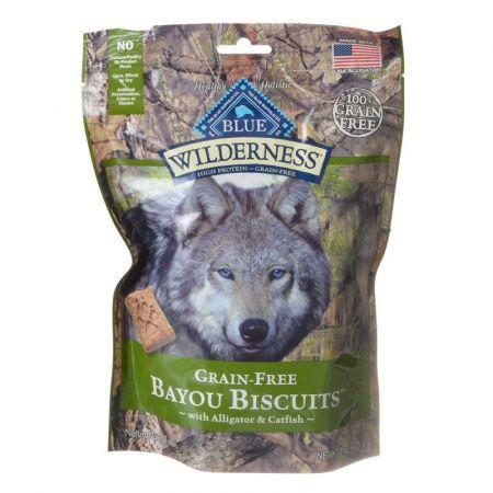 Blue Buffalo Blue Buffalo Wilderness Grain-Free Bayou Biscuits - Alligator & Catfish