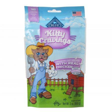 Blue Buffalo Blue Buffalo Kitty Cravings Crunchy Cat Treats - Real Chicken