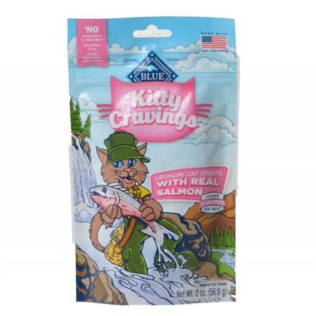 Blue Buffalo Blue Buffalo Kitty Cravings Crunchy Cat Treats - Real Salmon