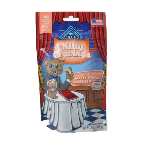 Blue Buffalo Kitty Cravings Crunchy Cat Treats - Real Shrimp alternate view 1