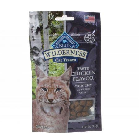 Blue Buffalo Blue Buffalo Wilderness Crunchy Cat Treats - Tasty Chicken Flavor