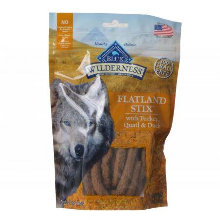Blue Buffalo Blue Buffalo Wilderness Flatland Stix Dog Treats - Turkey, Quail & Duck